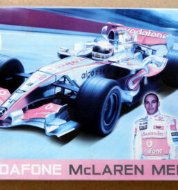 Airfix McLaren Mercedes formula one car