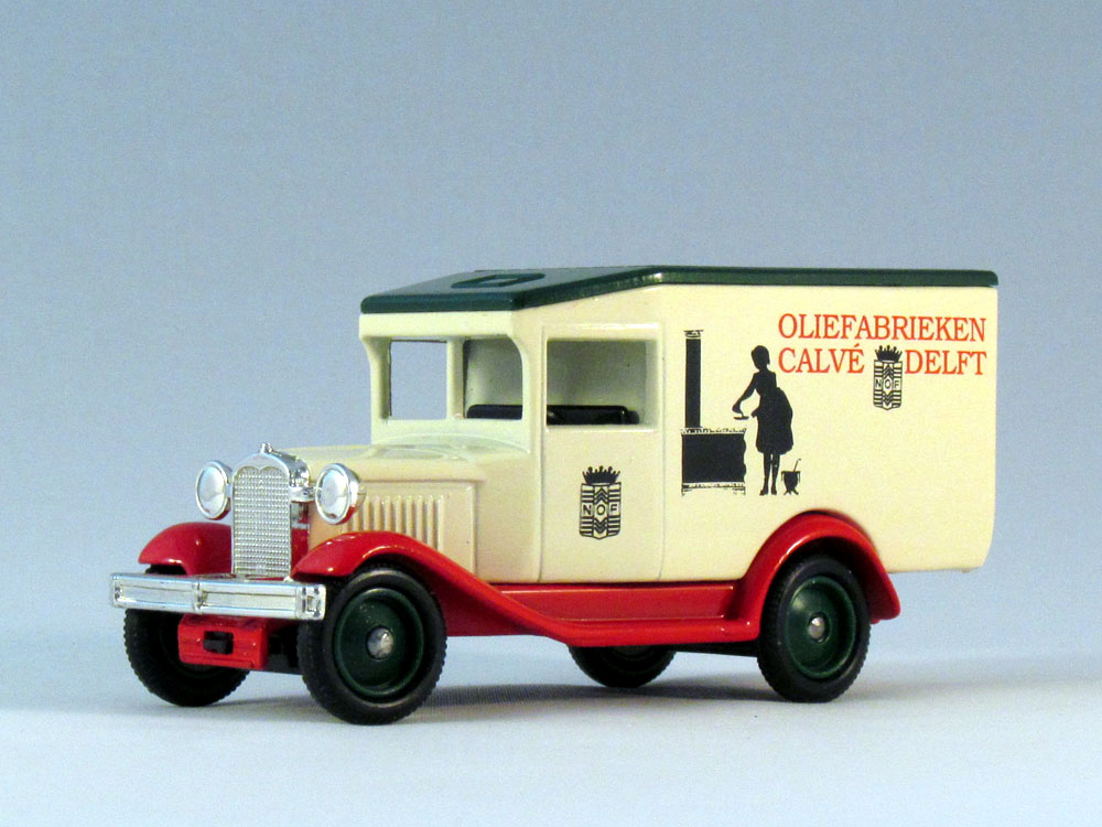 Lledo Classic Cars 931 1931 Ford Model A Van Calve Promotional ...