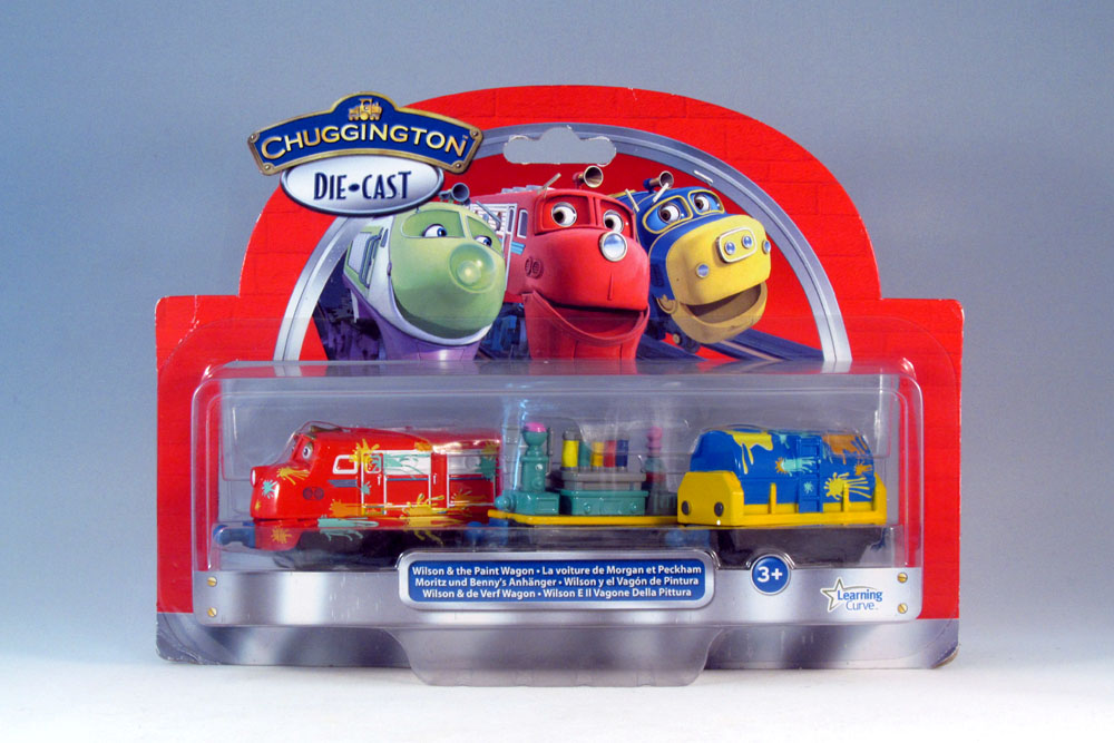 Tomy Chuggington LC54053 Wilson and the Paint Wagon Pack