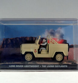 James Bond, Land Rover Lightweight, The Living Daylights
